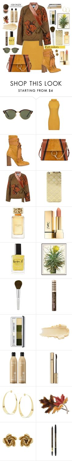 """Changes"" by susli4ek ❤ liked on Polyvore featuring Ray-Ban, Chloé, 3.1 Phillip Lim, Sonix, Tory Burch, Lauren B. Beauty, WALL, Too Faced Cosmetics, Clinique and Redken"