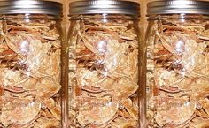By Ken Jorgustin The other day I made some dehydrated chicken breast strips, and I took a few pictures to show you how I did it. It's simple… The reason that I made this batch was actually for my… Dehydrator Dog Treats, Dehydrator Recipes, Dog Treat Recipes, Dog Food Recipes, Jerky Recipes, Dehydrated Dog Food, Dehydrated Vegetables, Best Treats For Dogs, Chicken For Dogs