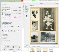Tips for Scanning Photos