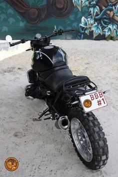 BMW r850r Scrambler Café Racer - Barn Built Bikes