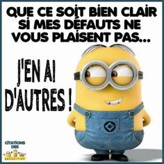 65 ideas quotes funny humor motivational for 2019 Minions Images, Minions Quotes, New Quotes, Funny Quotes, Funny Humor, Minion Humour, Funny Minion, Image Fun, Positive Attitude