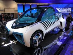 The Toyota FCV Plus: This Concept Car Can Talk to the Grid