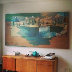 Une magnifique oeuvre de Clint Griffin dans nos bureaux ! Les Oeuvres, Painting, Art, Desk, Craft Art, Paintings, Kunst, Gcse Art, Draw