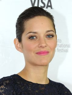 Marion Cotillard's Stained Pink Lip