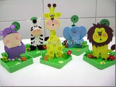 A Main Hobbies Coupon Foam Crafts, Diy And Crafts, Crafts For Kids, Jungle Party, Safari Party, Baby Shower Items, Baby Boy Shower, Hobby Bird, Hobbies To Try