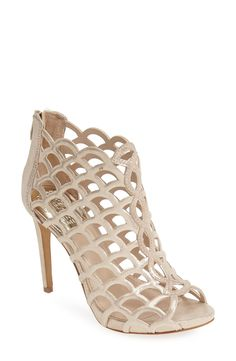 Caged booties are perfect for spring!