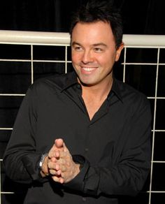 Seth MacFarlane...funniest man ever!!  Thank you for reminding the world to have a sense of humor!