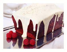 Himbeer-Rosen-Vanille-Marmorkuchen / Raspberry Rose Vanilla Marble Cake / Cake Marbré Framboise Rose Vanille