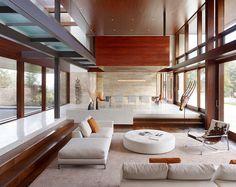 Modern Peninsula Estate by Lencioni Construction