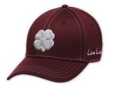 a973501e270 Men Golf Clothing - Black CloverLive Lucky Premium Clover 74 Black Clover  Hats