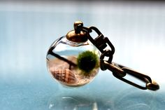 Wear Summer On Your Necklace With These Miniature Glass Terrariums http://www.randomzebra.com/wear-summer-on-your-necklace-with-these-miniature-glass-terrariums/  #handmade #jewelry #miniature