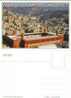 € 0,90 - code : ITA-016 - Genova - Ferraris - stadium postcard cartolina stadio carte stade estadio tarjeta postal