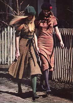 Seventeen Magazine, July 1971. Butterick patterns ad. 'You know what's you and what isn't. If you didn't, you wouldn't sew in the first place.'
