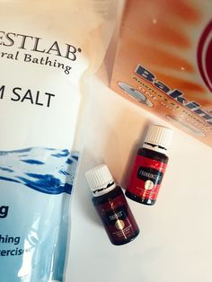 These Immune Boosting DIY Bath Salts are really easy to make and are so good for your body! You will love the way this homemade essential oil bath salt recipe smells and feels.