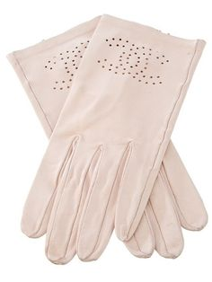 pale pink chanel gloves