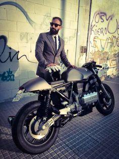 gentlemansessentials:Cafe Racer   Gentleman's Essentials