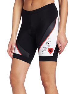 Pearl Izumi W Elite LTD Short (X-Large, Doves Black). Fall/Winter 2012. Body: 72% nylon 28% elastane/ UPF 40+Panels: 80% polyester 20% elastane/ UPF 40+. The Women's ELITE LTD Short combines bold graphic design with superior fabric performance and the riding comfort of our Women's ELITE 3D Chamois .