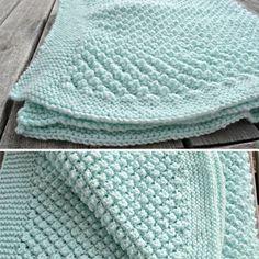 Popcorn Blanket - Free Pattern