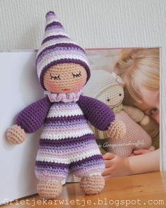 Give Away: Betoverende Amigurumiknuffels Crochet Teddy Bear Pattern, Crochet Patterns Amigurumi, Amigurumi Doll, Crochet Dolls, Crochet Baby, Diy Crafts Knitting, Diy Crafts Crochet, Knitted Bunnies, Knitted Cat