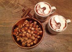 Kakao og ristede nøtter
