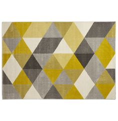 Kokoon Design - Dywan Muoto 230 x 160 cm Yellow Carpet, Kokoon Design, Tapis Design, Graphic Wallpaper, Fabric Rug, Yellow Fabric, Easy Home Decor, Contemporary Rugs, Vinyl