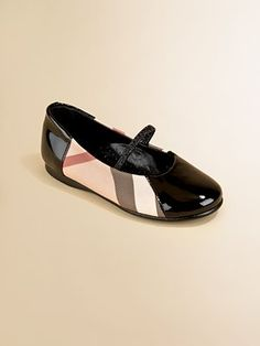 Burberry Infant's, Toddler's & Girl's Misha Check Ballerina Slip-On Flats