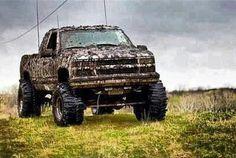 <3 <3 <3 <3 muddy chevy truck