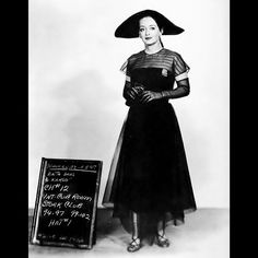 Costume test (not used) for All About Eve