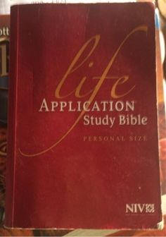 Free: Life Appication Study Bible - Nonfiction Books - Listia.com Auctions for Free Stuff