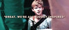 Thomas Sangster as Newt in The Maze Runner Trilogy