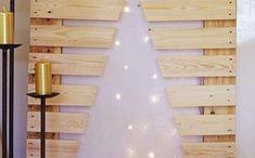 Pourquoi pas se faire un arbre de noel différent cette année? On va vous donner beaucoup d'idées diy pour un sapin de noel fait avec matériaux simples qui sont chaleureuses, originalesetéco friendly. Les arbres dans la forêt sont bien à leurs places et la planète nécessite leur fonction naturelle. C... Idee Diy, Wall Lights, Lighting, Home Decor, Desserts, Unique Christmas Trees, Owl Templates, White Wall Tiles, Light String