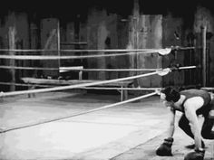 The fight . Buster Keaton, click gif , animated