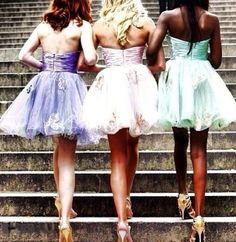 Cute bridemaid dresses