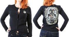 Sister Sister Siamese Twins Cardigan by Lucky 13