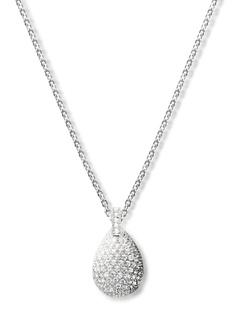 Collier Eléa en or blanc et diamants