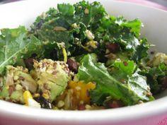 Sides & Salads: #Kale #Salad  #christmas #recipes