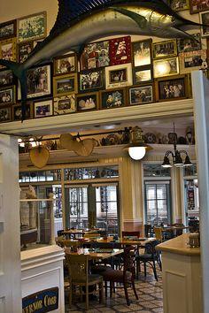 Olivia's Cafe at Disney's Old Key West Resort.