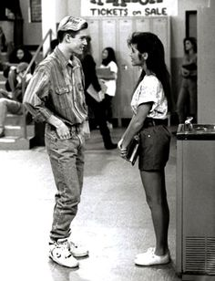 Zach and Kelly- Saved by the Bell