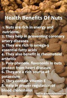 Top 10 Health Benefits Of Nuts