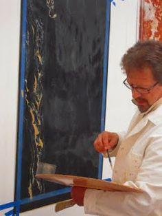 Atelier Nadai - Mural paintings and trompe-l'oeil: Oak and Portor