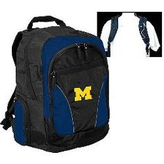 Logo Chair Michigan Wolverines 2 Strap Backpack