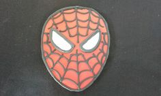 6 Hand Decorated Spiderman Cookies by LochelsBakeryLLC on Etsy
