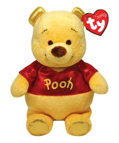 Ty Beanie Buddies Winnie The Pooh Sparkle Medium Plush  The world famous Beanie  Babies are forever filled with fun! Ultra iconic facdda4ff365