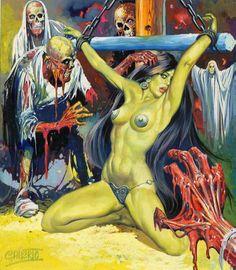 Zombie porn. Yum.