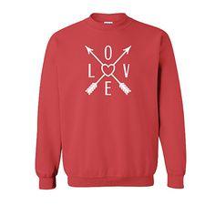 Bohemian Love Valentine Sweatshirt
