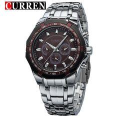 Curren Metal Wrist Dress Watch
