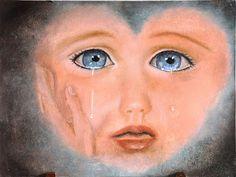 s'il te plait,dessine moi un menton...: poupée bleue