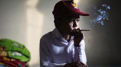 Children smoking is a huge problem in Indonesia   Marlboro Boys photos