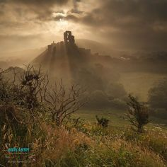 Beautiful photograph by Andy Farrer. Take a visit to Corfe Castle and learn all about this castles interesting history. Lots of good places to eat and drink and you can even catch the steam train into Swanage. Check out The National Trust for further information.