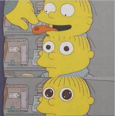 Shared by Find images and videos about cartoon, drugs and the simpsons on We Heart It - the app to get lost in what you love. Simpson Wallpaper Iphone, Cartoon Wallpaper, Cartoon Memes, Cartoon Pics, Los Simsons, Ralph Wiggum, Lsd Art, Psychedelic Art, Reaction Pictures